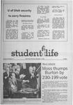 Student Life, November 4, 1970, Vol. 68, No. 17