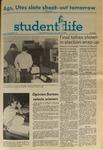 Student Life, November 6, 1970, Vol. 68, No. 17