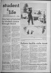 Student Life, January 13, 1971, Vol. 68, No. 36