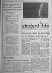 Student Life, January 20, 1971, Vol. 68, No. 39