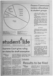 Student Life, March 10, 1971, Vol. 68, No. 60