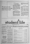 Student Life, March 12, 1971, Vol. 68, No. 61