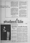 Student Life, March 29, 1971, Vol. 68, No. 64