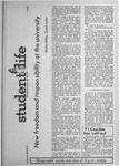 Student Life, May 24, 1971, Vol. 68, No. 88