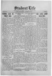 Student Life, November 20, 1914, Vol. 13, No. 9