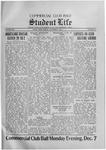 Student Life, December 4, 1914, Vol. 13, No. 11