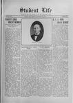 Student Life, February 26, 1915, Vol. 13, No. 21