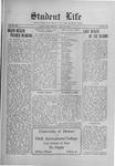Student Life, April 16, 1915, Vol. 13, No. 28