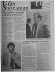 The Utah Statesman, May 18, 1984 by Utah State University