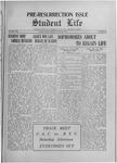Student Life, April 23, 1915, Vol. 13, No. 29