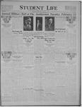 Student Life, February 17, 1922, Vol. 20, No. 19