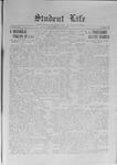 Student Life, May 21, 1915, Vol. 13, No. 33