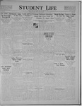 Student Life, March 24, 1922, Vol. 20, No. 23
