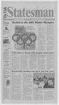 The Utah Statesman, September 22, 2000