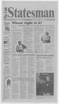 The Utah Statesman, October 20, 2000