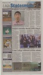 The Utah Statesman, January 13th, 2012