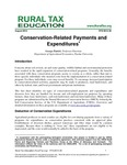 Conservation-Related Payments and Expenditures by George Patrick