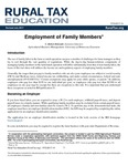 Employment of Family Members by C. Robert Holcomb