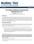 The Optional Method of Paying Self-Employment Tax by Karli Salisbury