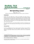 Net Operating Losses