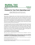 Choices for Your Farm Operating Loss