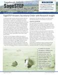 SageSTEP News, Spring 2015, No. 26