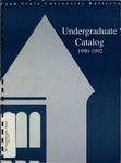 General Catalog 1990-1992 by Utah State University