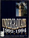General Catalog 1992 - 1994