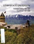 Graduate Catalog/Supplement 1995-1998