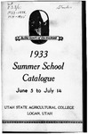 General Catalogue 1933, Summer