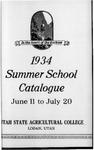 General Catalogue 1934, Summer