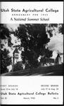 General Catalog 1952, Summer