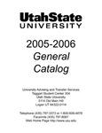 General Catalog 2005-2006 by Utah State University