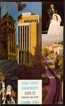 General Catalog 1970-1972, Graduate