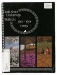General Catalog 1982-1984 by Utah State University