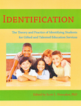 Identification the Theory and Practice of Identifying Students for Gifted and Talented Education Services by Scott L. Hunsaker