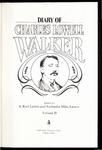 Diary of Charles Lowell Walker Vol.2 by Charles Lowell Walker