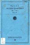 The U.A.C. Alumni Quarterly, Vol. 1 No. 3, February 1925
