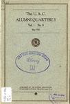 The U.A.C. Alumni Quarterly, Vol. 1 No. 4, May 1925
