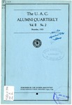 The U.A.C. Alumni Quarterly, Vol. 2 No. 2, November 1925