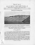 The U.A.C. Alumni Quarterly, Vol. 4 No. 1, September 1927