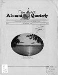 The U.A.C. Alumni Quarterly, Vol. 5 No. 1, September 1928