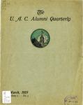 The U.A.C. Alumni Quarterly, Vol. 5 No. 3, March 1929