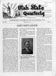 The Utah State Quarterly, Vol.9 No. 3, March 1933