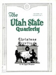 The Utah State Quarterly, Vol. 9 No. 2, December 1932
