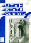 Utah State Quarterly, Vol. 10 No. 2, November 1933